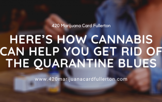 Here's How Cannabis Can Help You Get Rid Of The Quarantine Blues