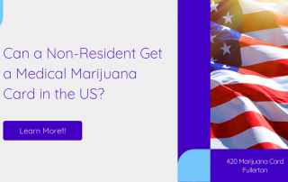 Can a Non-Resident Get a Medical Marijuana Card in the US?